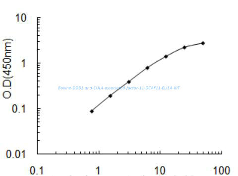 Bovine DDB1- and CUL4- associated factor 11, DCAF11 ELISA KIT